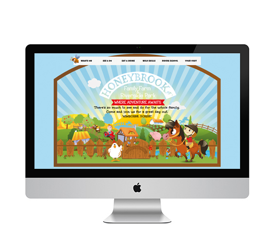 Honeybrook Desktop Website